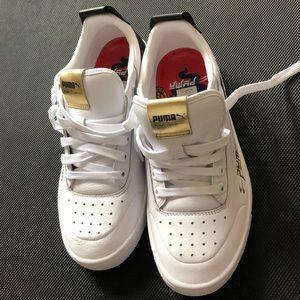 NWOT PUMA UNISEX Ralph Sampson leather sneaker s41